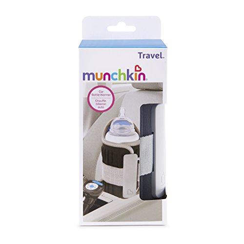 Munchkin Travel Car Baby Bottle Warmer Grey Import It All