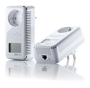 Devolo dLAN 500 AVsmart+ Starter Kit - Accesorio de red (Alámbrico, PowerPlug, Ethernet, 500 Mbit/s, 10/100BaseT(X), 10, 100 Mbit/s) Plata, Color blanco