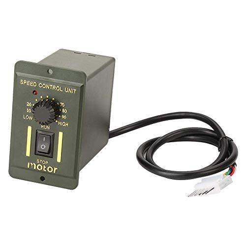 Gulakey 高トルクギアリダクションモーター、5M90GN-CギアリダクションモーターCW/ギアボックス知事AC 220V 90W(20K)とCCWモーター