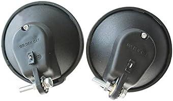 Generic Vintage 6V 3W generador de fricción Dynamo Linterna Luz ...