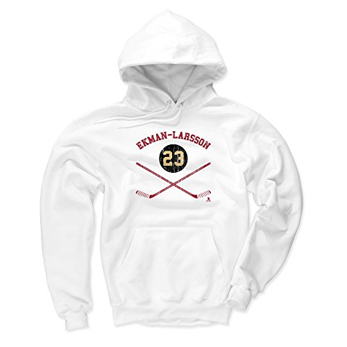 - 500 LEVEL Arizona Coyotes Men's Hoodie - XXX-Large White - Oliver Ekman-Larsson Sticks R