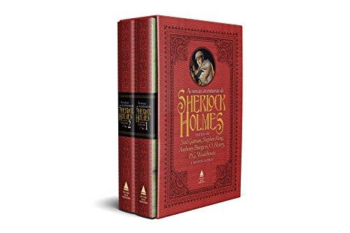 As Novas Aventuras de Sherlock Holmes - Caixa