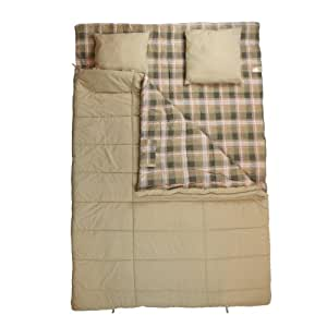 10T Canoodle - Saco de dormir (2 personas, 230 x 160 cm), color beige