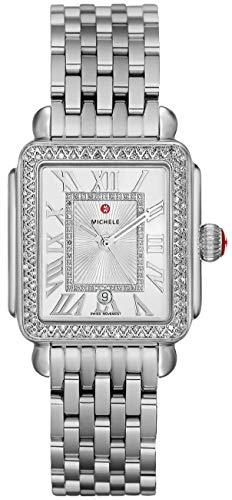 Michele Women's Deco Madison Mid - MWW06G000001 Silver One Size