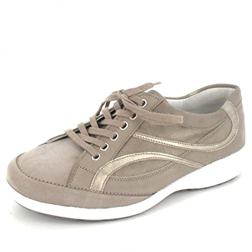 de Lightgold K Taupe Ville Weite Waldläufer Chaussures Pour taupe 8nkXwP0ZNO