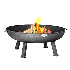 Harbour Housewares Cast Iron Fire Pit 100cm