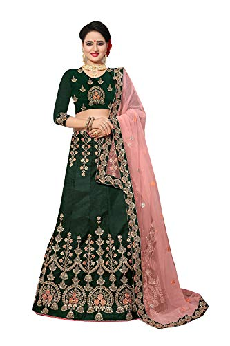 15 Ethnic Green Designer Da Traditional Women Lehenga Facioun Partywear Indian Choli RqUUAOXPv