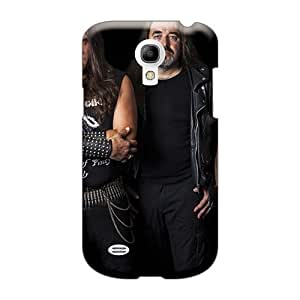 Durable Hard Phone Case For Samsung Galaxy S4 Mini (Ann676MofH) Allow Personal Design Attractive Macbeth Band Image
