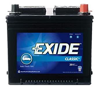 Amazon.com: EXIDE BAT. 27FC Battery 12 Volts: Industrial