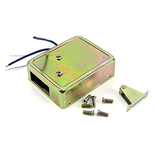 - 12V Mini Electric Bolt Lock Cabinet Drawer Lock Fail Secure Power on to Open