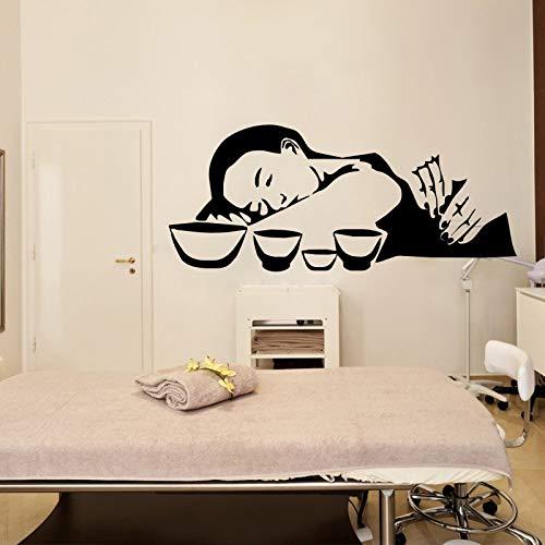 Masaje tailandés Tatuajes de Pared Niñas Salón de Belleza ...