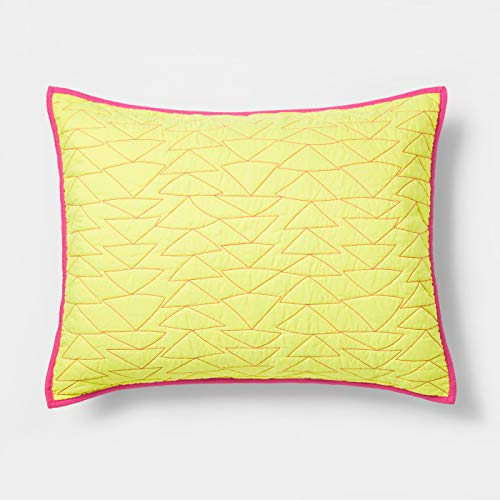 - Pillowfort Triangle Stitch Pillow Sham (Standard) 20