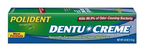 Polident Dentu-Creme, 3.9-Ounce (Pack of 6) by GlaxoSmithKline