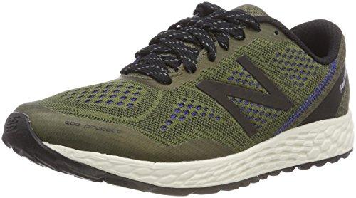 New Balance MTGOBID2 Men's Fresh Foam Gobi Trail Running Shoes, Triumph Green with Black & Pacific - 10.5 D(M) US (New Balance Mens Fresh Foam Hierro Athletic Shoes)