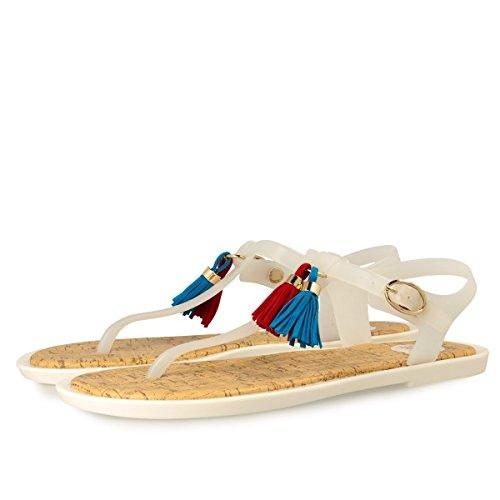 Gioseppo Chaussures à brides Corvina 40105 femme White 1Snqa1Fwx