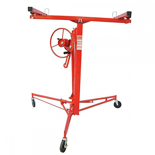 Drywall Panel Hoist (Drywall Panel Hoist Dry Wall Jack Rolling Caster Lifter Construction Tool)