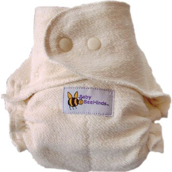 Image: Bamboo Velour Fitted Cloth Diapers