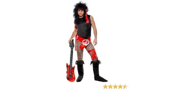 Smiffys - Disfraz de rockero para Hombre, Talla UK 38 - 40 ...