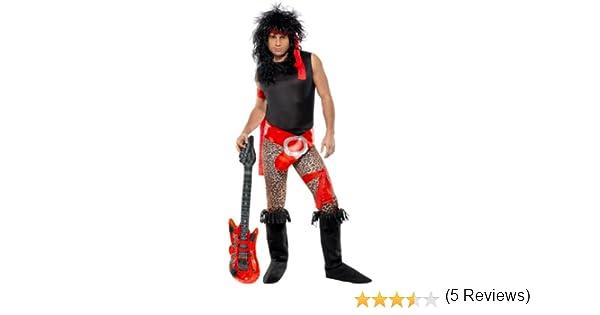 Smiffys - Disfraz de rockero para Hombre, Talla UK 42 - 44 ...