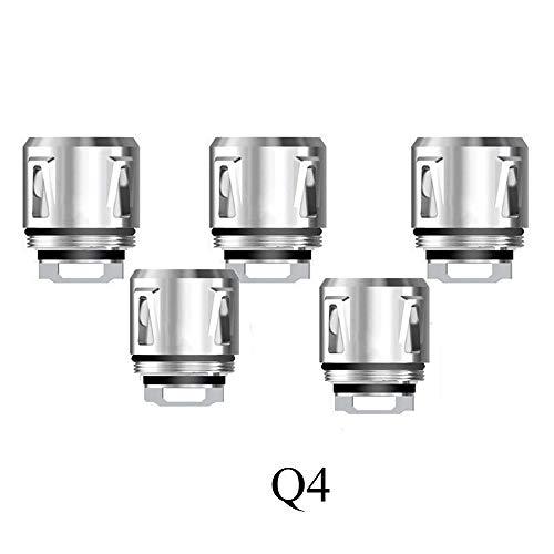 5pcs Replacement C-o-i-l-s Q4/T12 Red Light/Mesh C-o-i-l for V-1-2- B-a-b-y P-r-i-n-c-e (Q4)