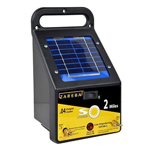 Zareba ESP2M-Z 2-Mile Solar Low Charger