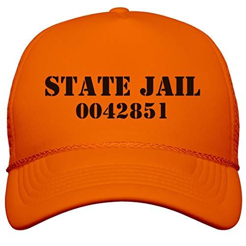 FUNNYSHIRTS.ORG State Jail Prisoner: Neon Snapback Trucker