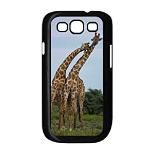 WJHSSB Phone Case Giraffe Hard Back Case Cover For Samsung Galaxy S3 I9300