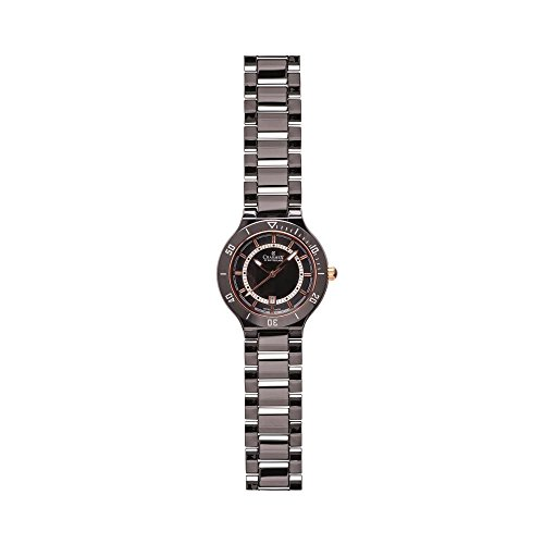 Charmex San Remo 6317 35mm Ceramic Case Black Ceramic Synthetic Sapphire Women's Watch