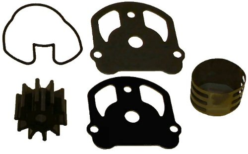 Water Pump Impeller Kit for OMC Cobra with Liner Replaces 984461 777128 983895