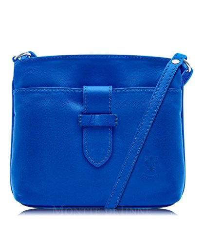 Soft Body Leather or Italian Shoulder Bag Cross Handbag Fronted Genuine Jeans Strap Small 5OgpWqw