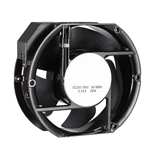 240V 0.45A Double Ball Bearings NA Cooling Fan 200 mm x 200 mm x 60 mm FP-20060EX-S1-B AC 220V