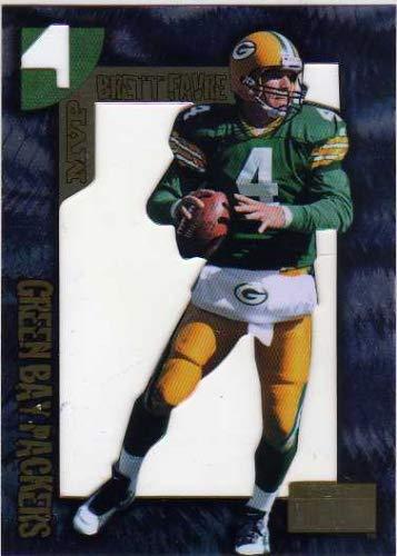 1996 SkyBox Premium Brett Favre MVP #4 Brett Favre Die Cut Football ()