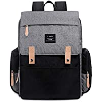 Genuine LAND Multifunctional Baby Diaper Backpack Changing Bag Nappy Mummy 2019 - Grey