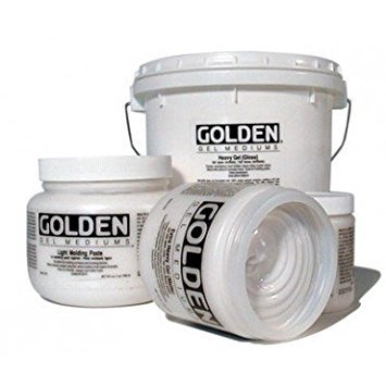 Golden 0003017-7 32oz. - 946ml - Semi-Gloss Soft Gel - Medium