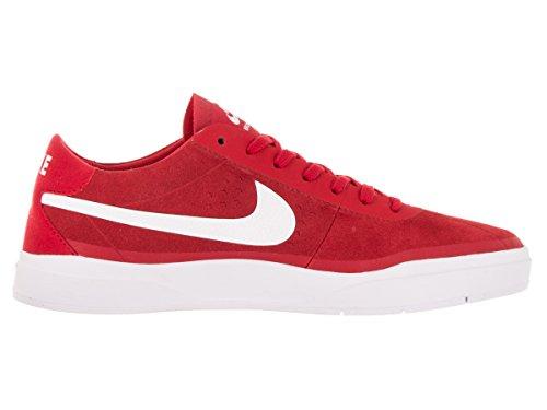 Nike Mens Bruin Sb Hyperfeel Skatesko Universitet Röd / Vit-blk-white
