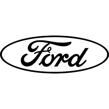 Large ford logo rear window decal 27 x 9 5