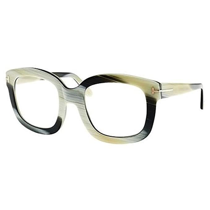 8edd753809ab3 Tom Ford Eyeglasses FT5315 062 Shiny Green Horn  Amazon.ca  Clothing    Accessories