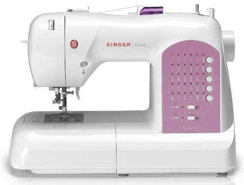 SINGER Curvy 8763 Computerized Free-Arm Handy Sewing Machine