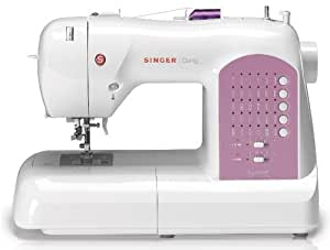 SINGER 8763 Curvy Computerized Free-Arm Sewing Machine