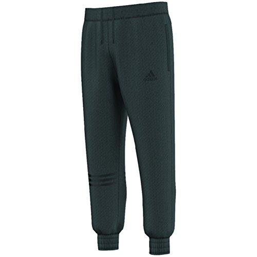 Adidas Dual Threat Mens Basketball Pants 2XL Solid Grey-Black