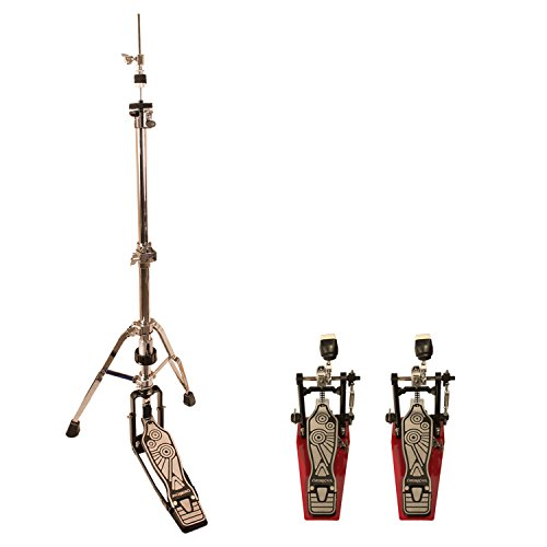 ChromaCast Pro Series Double Braced Hi Hat Stand and 2 Chain Drive Pedals (CC-PS-900-KIT-7)