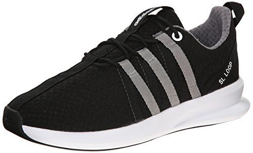 Adidas Super Light Loop Racer Black White Youths Trainers - C77540
