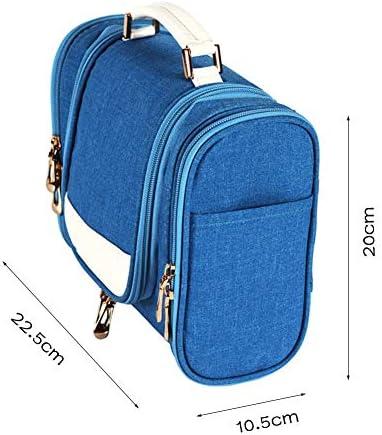 ハンギング男性と女性のためのトイレタリーバッグ、ポータブル防水浴室のシャワーバッグ、軽量キットバッグ、特大容量頑丈なオーガナイザー