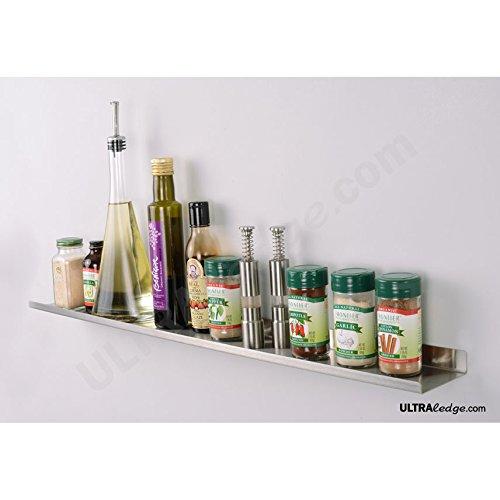 over range display shelf ledge