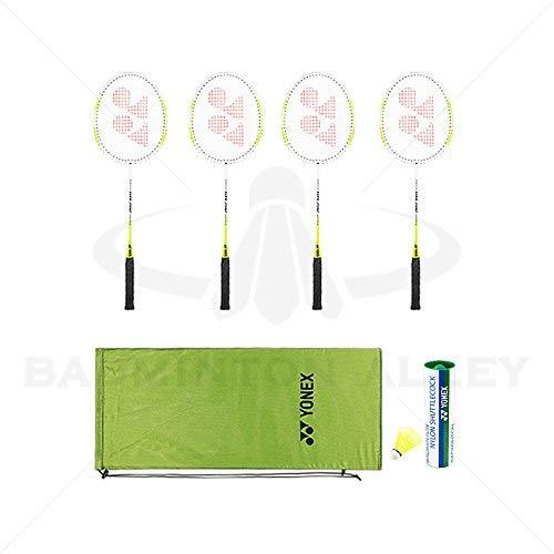 2017 Yonex 4 Rackets Combo Set (Green Bag)