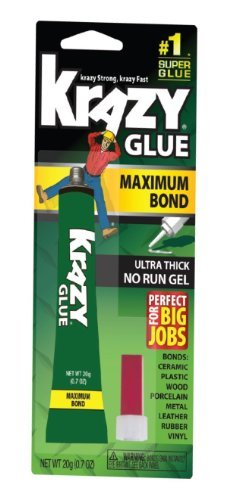 Kg48148mr Krazy Glue Maximum Bond Ultra Thick No Run Gel - 20g by Elmer's Products