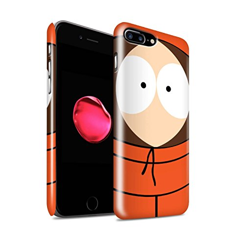 Gloss Phone Case for Apple iPhone 7 Plus Funny South Park Inspired Kenny Design Glossy Hard Snap On Cover