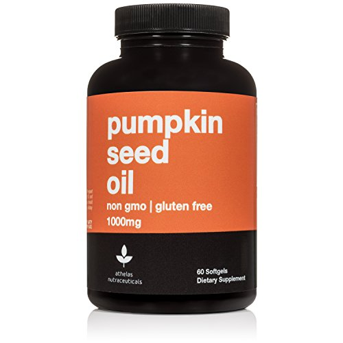 Pumpkin Seed Oil 1000mg - Non-GMO Premium Cold Pressed Prostate and Urinary Tract Support - Bladder Regulation and Control - Softgel Capsules Supplement