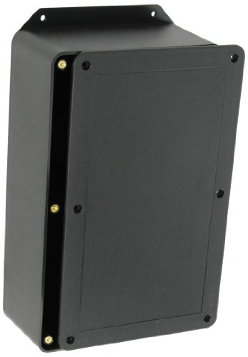 BUD Industries CU-3286-MB Plastic Style A Utility Box with Mounting Bracket, 10-9/64