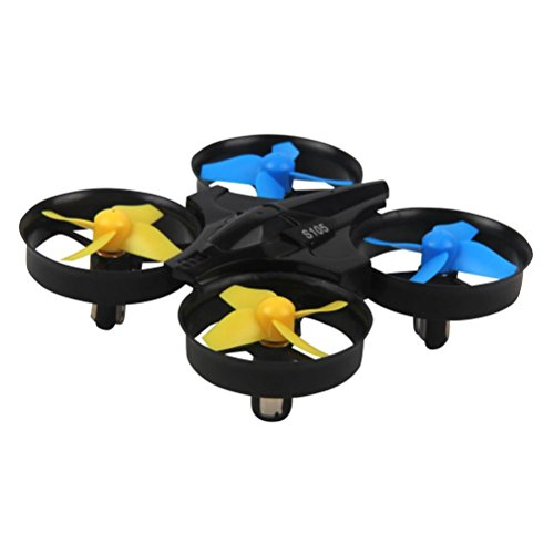 Predator Mini RC Helicopter Drone H36 Mini Drone 2.4Ghz 4CH 6-Axis GYRO Quadcopter Headless LED 360° Flip Good Choice for Drone Training by DM